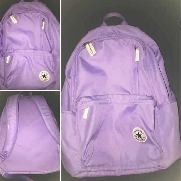 6e16f007c8 Converse Handbags - Converse Original Backpack (Core) Lilac